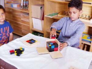 Trinomial Cube Lesson