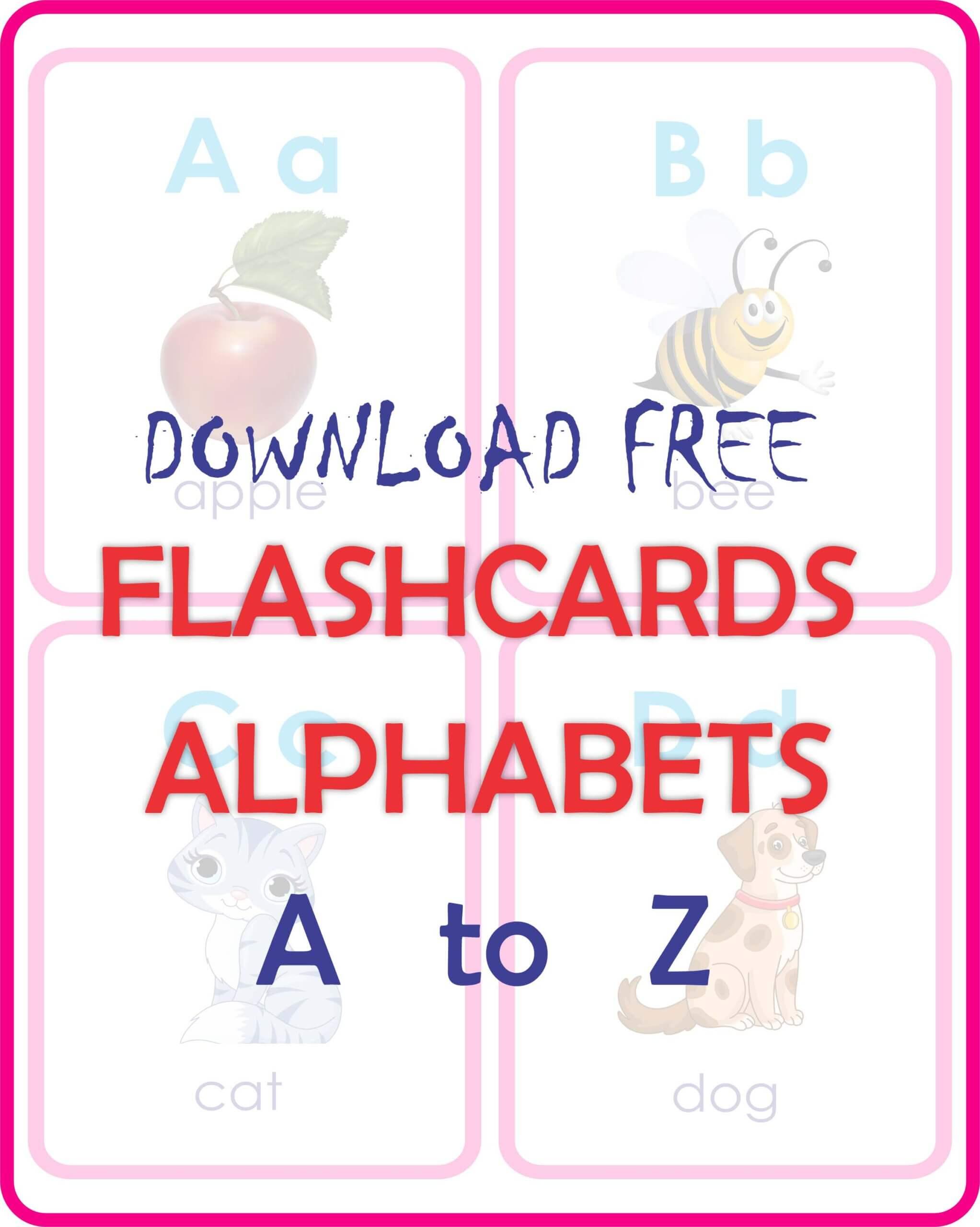 kids Flashcards Free download-English Alphabets.